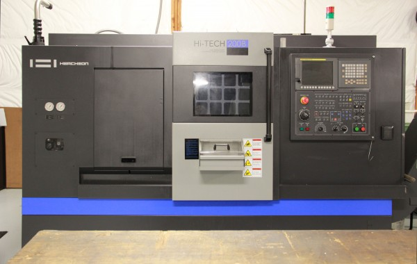 Hwacheon HI TEC 200B CNC Lathe Max turning diameter 13.78""