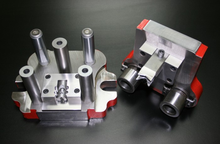 CNC milled and assembled custom die set