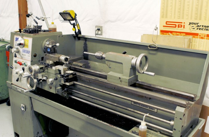 "Sharp Manual Lathe 13""x40"""
